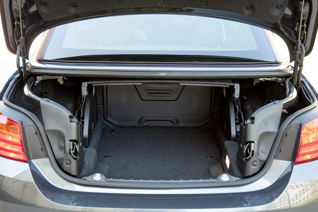 BMW M4 Cabrio Kofferraum