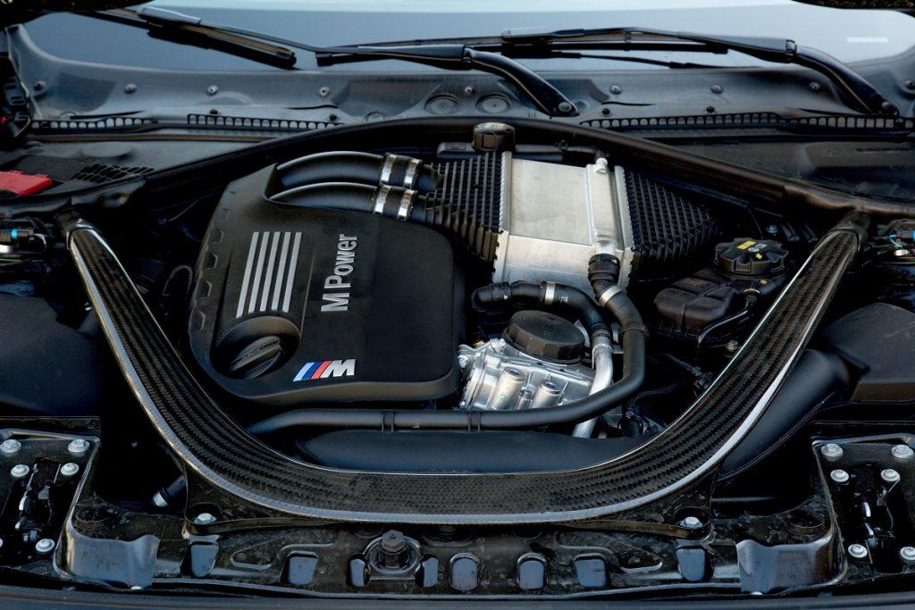 BMW M4 Cabrio Motor